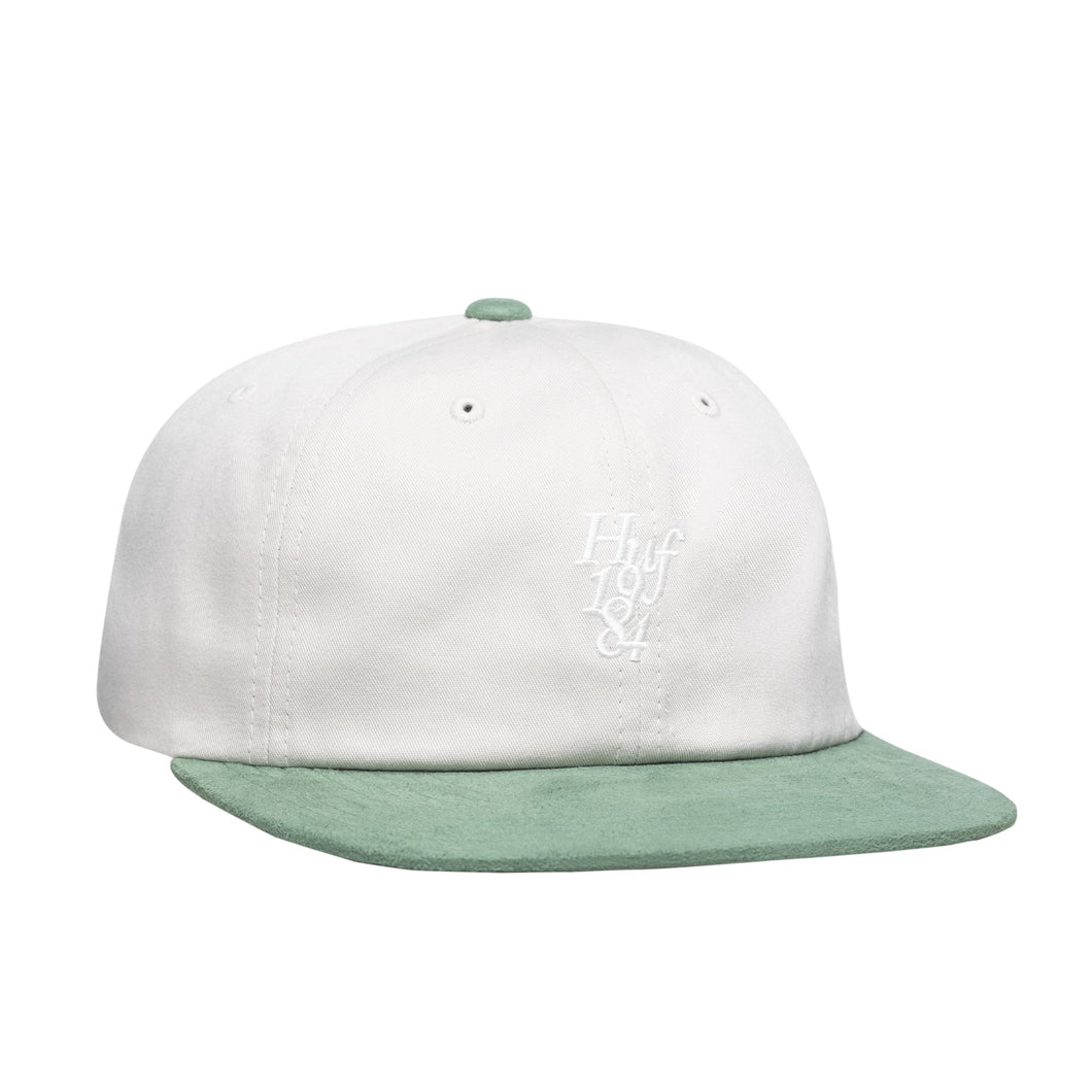 HUF 1984 Contrast 6 Panel Hat Mens Cap Oyster White