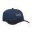HUF 1993 CURVED VISOR 6 PANEL MENS CAP NAVY BLAZER