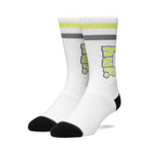 Load image into Gallery viewer, HUF 1993 Stripe Sock Mens Sock White