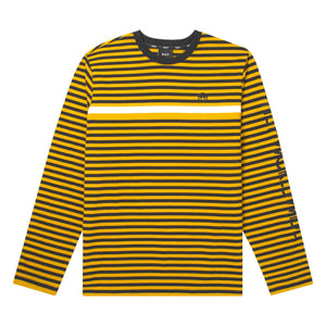 HUF Morris Long Sleeve Knit Top Sauterne