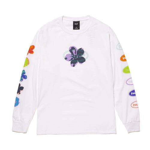 HUF Adored Long Sleeve T-Shirt White