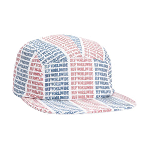 HUF Alandale Volley Hat True Red