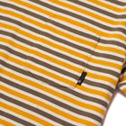 Load image into Gallery viewer, HUF Alex Stripe Short Sleeve Shirt Golden Spice