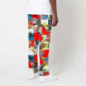 HUF Aloha Patchwork Easy Pant Multi