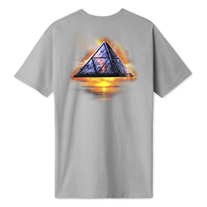 HUF Ancient Aleins T-Shirt Mens Printed Tee Castle Rock