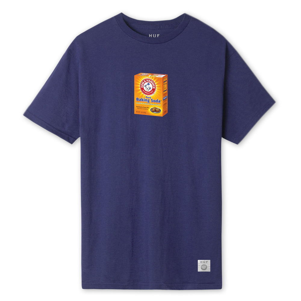 HUF Arm & Hammer Box T-Shirt Mens Tee Navy