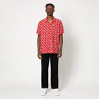Load image into Gallery viewer, HUF Atelier Resort Woven Short Sleeve Shirt Mens SS Knitwear Red