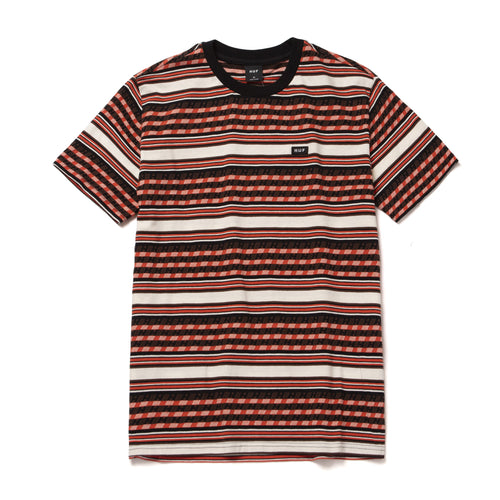 HUF Bedford Short Sleeve Knit Top Ginger