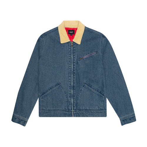 HUF Beuh Denim Jacket Mens Jacket Indigo