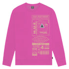 Load image into Gallery viewer, Huf Bit-6 Crewneck Magenta