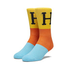 Load image into Gallery viewer, Huf Blocked Classic H Sock Electric Orange