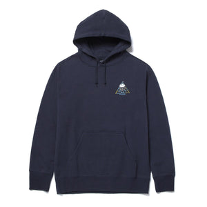 HUF Blvd Triple Triangle Pullover Hoodie French Navy