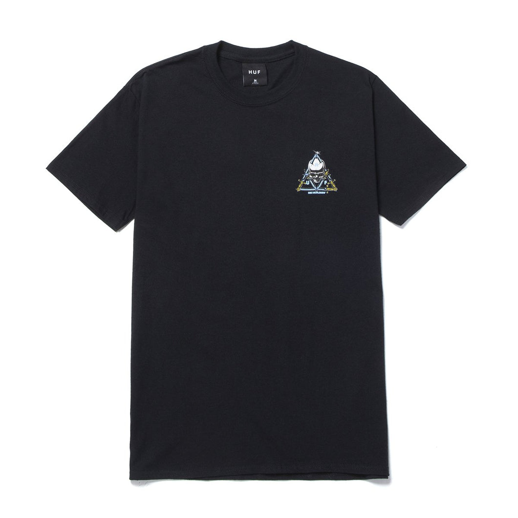 HUF Blvd Triple Triangle T-Shirt Black