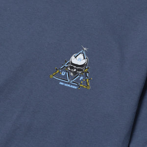 HUF Blvd Triple Triangle T-Shirt Slate