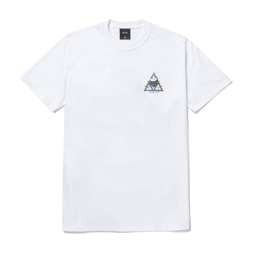 HUF Blvd Triple Triangle T-Shirt White