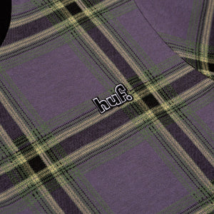 HUF Borland Knit Shirt Grape
