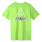 Load image into Gallery viewer, HUF Botanical Garden Triple Triangle T-Shirt Huf Green