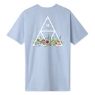 Load image into Gallery viewer, HUF Botanical Garden Triple Triangle T-Shirt Light Blue