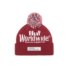 Load image into Gallery viewer, HUF Burn Fast Beanie Mens Beanie Poppy