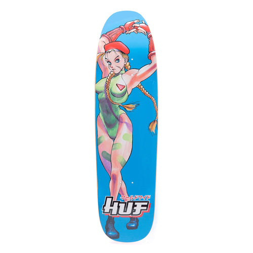 Huf Cammy Cruiser Deck Cyan