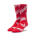Load image into Gallery viewer, HUF Campaign Sock Mens Sock Poppy