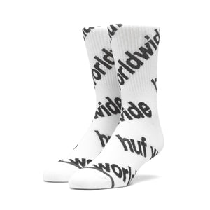 HUF Campaign Sock Mens Sock White