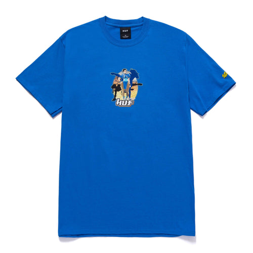 Huf Chun-li T-shirt Royal