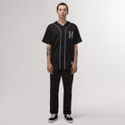 Load image into Gallery viewer, HUF Classic H Reflective Baseball Jersey Black