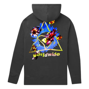 Huf Come Down Triple Triangle Pullover Hoodie Black
