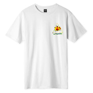 Huf Come Down Triple Triangle T-shirt White