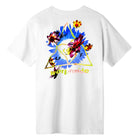 Load image into Gallery viewer, Huf Come Down Triple Triangle T-shirt White