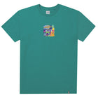 Load image into Gallery viewer, HUF Comics Box Logo T Shirt Mens Tee Quetzal Green