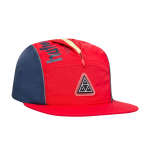 HUF Conceal Pocket Volley Mens Cap Mandarin Red