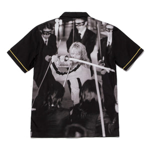 Huf Crazy 88 Short Sleeve Woven Shirt Black