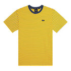 Load image into Gallery viewer, HUF Davis Striped Short Sleeve Knit Top Mens Ss Knitwear Sauterne