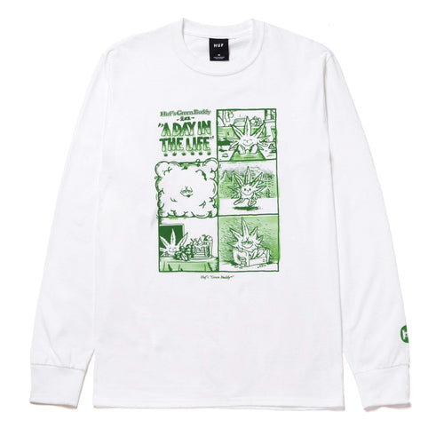 Huf Day In The Life Long Sleeve T-Shirt