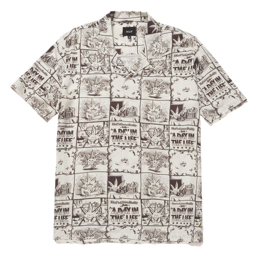 Huf Day In The Life Woven Top