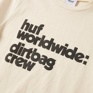 HUF DBC Mini T-Shirt Womens Printed Tee Ivory