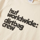 Load image into Gallery viewer, HUF DBC Mini T-Shirt Womens Printed Tee Ivory