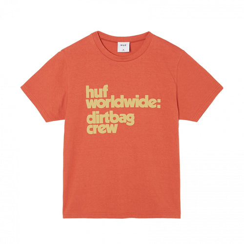 HUF DBC Mini T-Shirt Womens Printed Tee Red