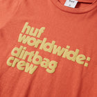 Load image into Gallery viewer, HUF DBC Mini T-Shirt Womens Printed Tee Red