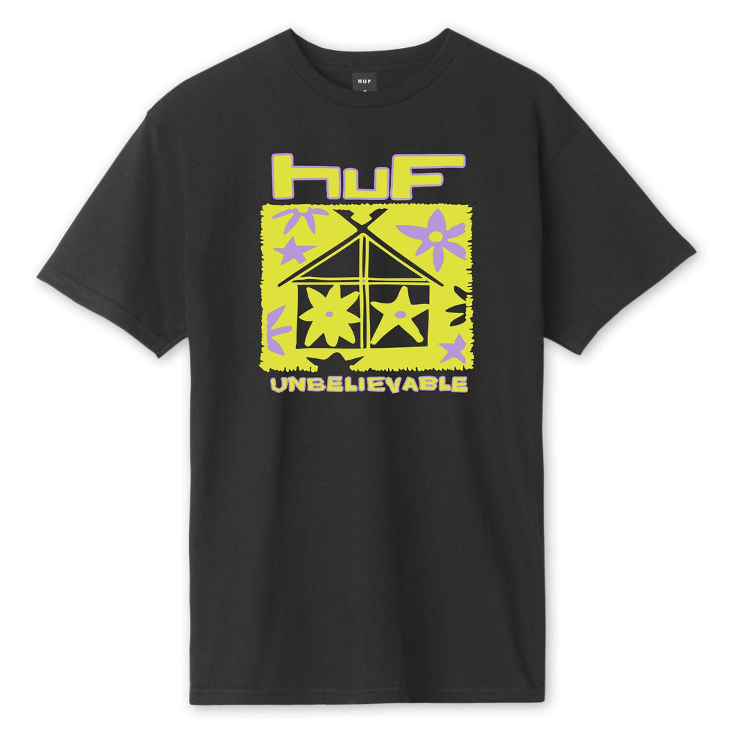 Huf Deep House T-shirt Black