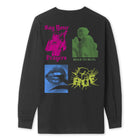 Load image into Gallery viewer, HUF Deja Vu Long Sleeve T-Shirt Black