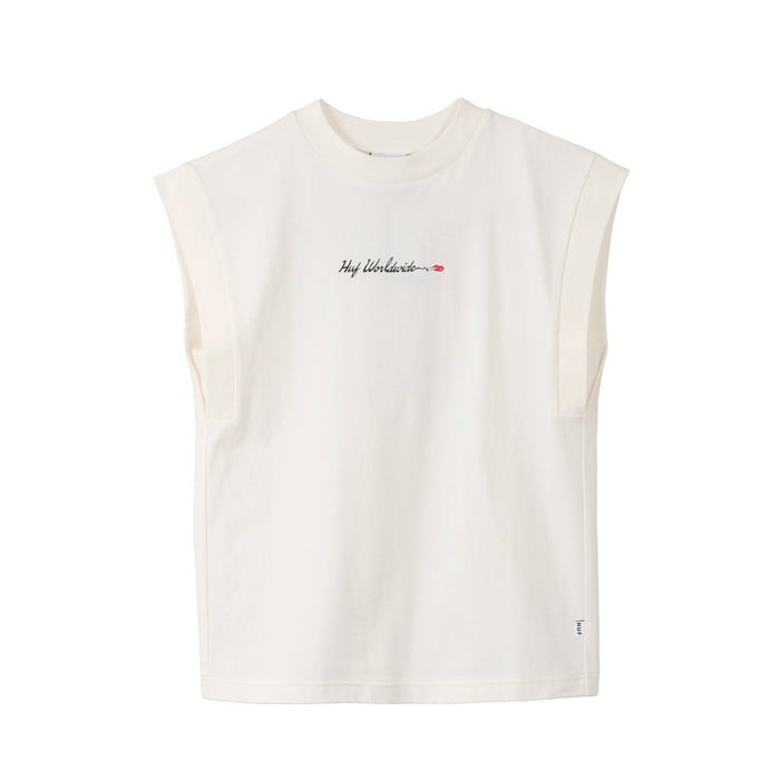 HUF Delincuente Tank Top  Womens Top White