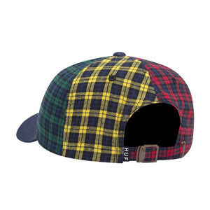 HUF Disorder Curved Visor 6 Panel Multi