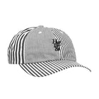 Load image into Gallery viewer, HUF Disorder Curved Visor 6 Panel White