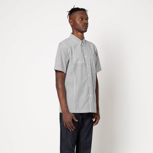 HUF Disorder Short Sleeve Woven Shirt Black