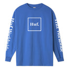 Load image into Gallery viewer, HUF Domestic Long Sleeve T Shirt Mens Ls Tee Nebulas Blue