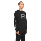 Load image into Gallery viewer, HUF Domestic Long Sleeve T Shirt Mens Ls Tee Black