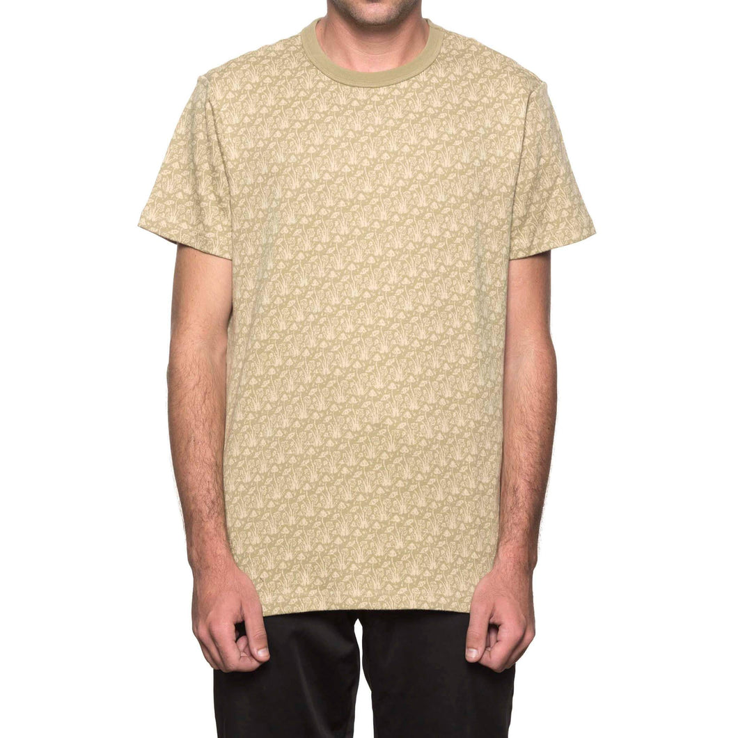 HUF Don't Trip Short Sleeve Knit Drab Olive
